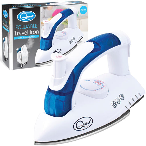 UK Plug Foldable Travel Iron - 750W