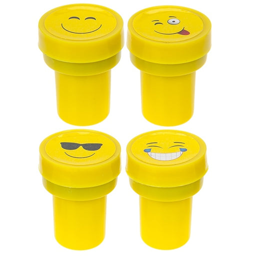 Emoticons Stamp Set - 4pc