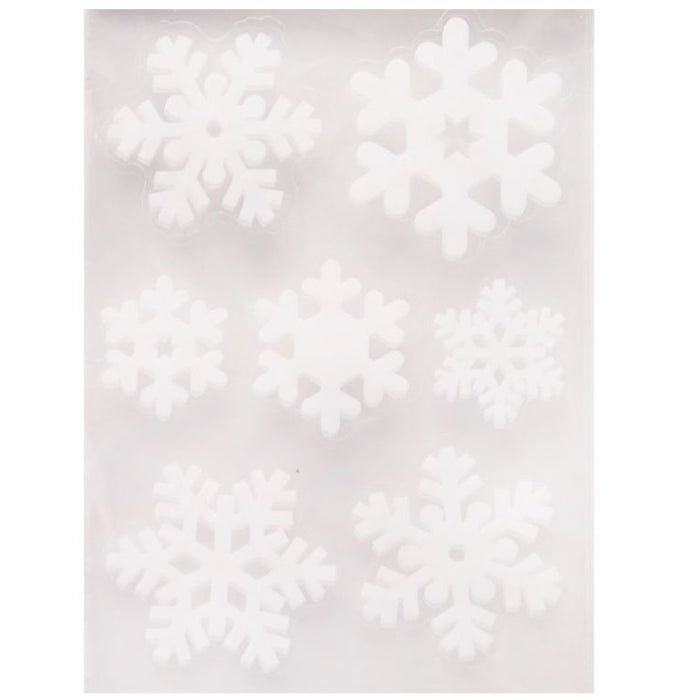 Snowflake Stickers - 14pc