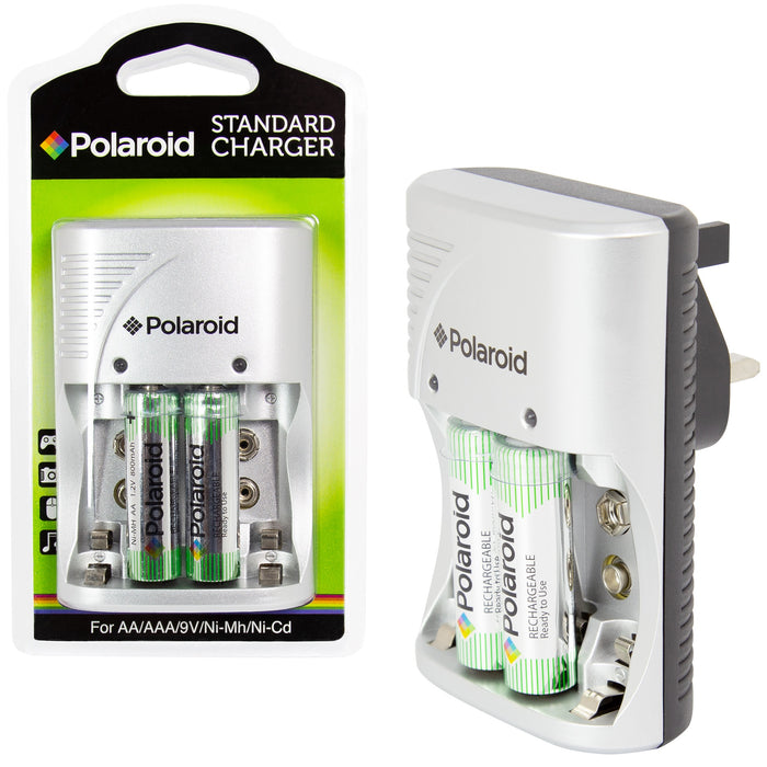 DISC Rechargeable Battery Charger