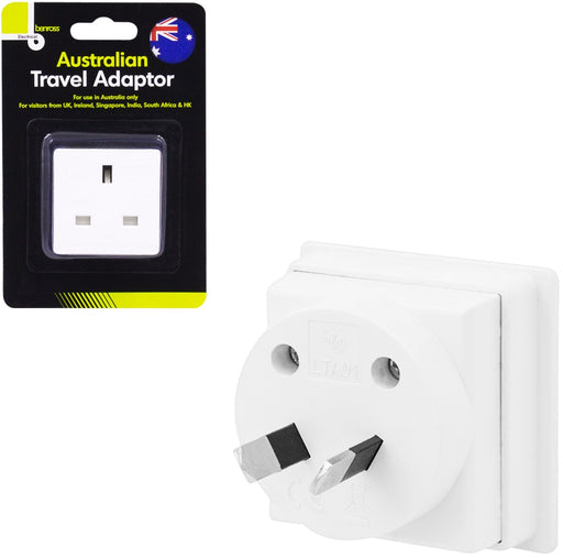 DISC Travel Adaptor UK to Australia
