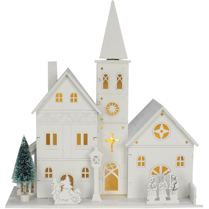 LED Chruch - Christmas Themed