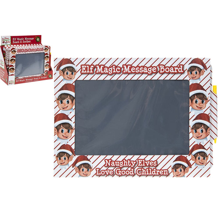 Elf Magic Message Board - Includes Pen