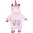 Plush Unicorn Hot Water Bottle - 1L