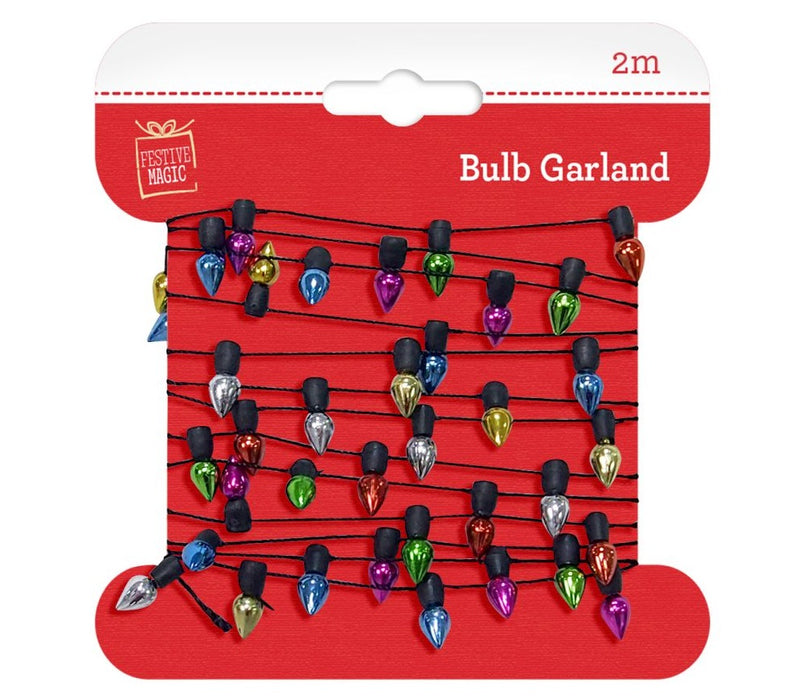 Lightbulb Garland - 2m