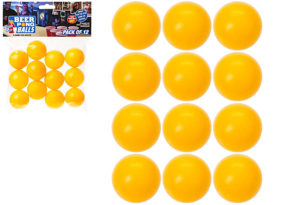 Spare Beer Pong Balls - 12pc