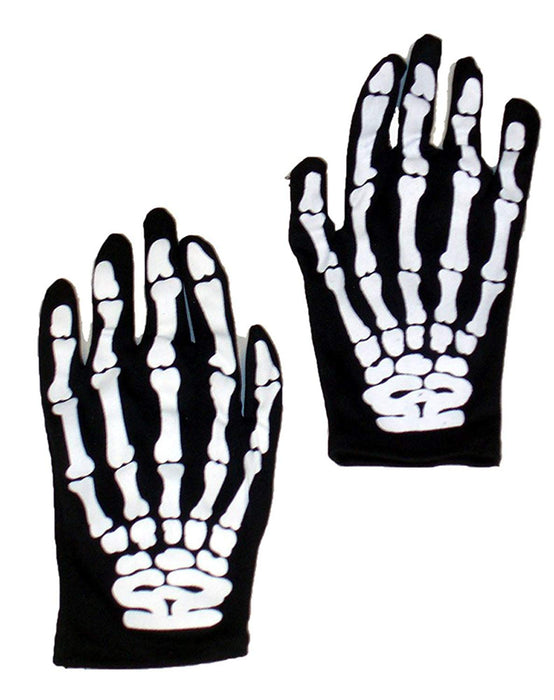 Skeleton Gloves - Adult Size