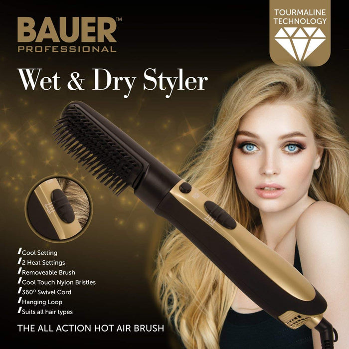 Wet & Dry Hair Styler Brush
