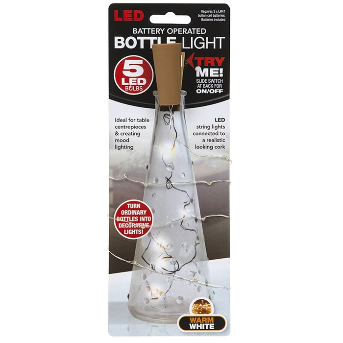 Light Bottle Cork