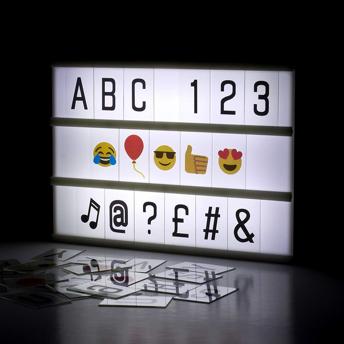 Cinematic LED Lightbox - A6