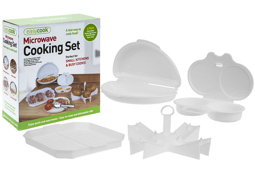 Microwave Cooking Set - 4pc
