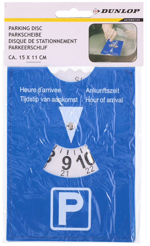 Parking Disc - With Hour Of Arrival Clock