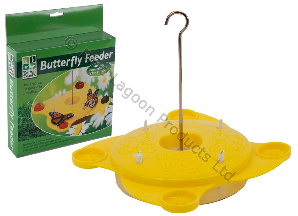 Butterfly Feeding Station - 22 x 22 x 5 cm