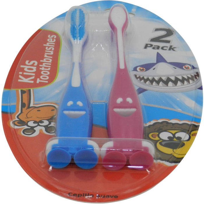 Kids Character Toothbrush - 2pc