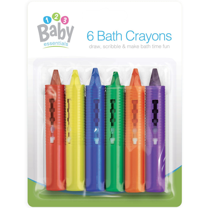 Bath Time Crayons - 6pc Set