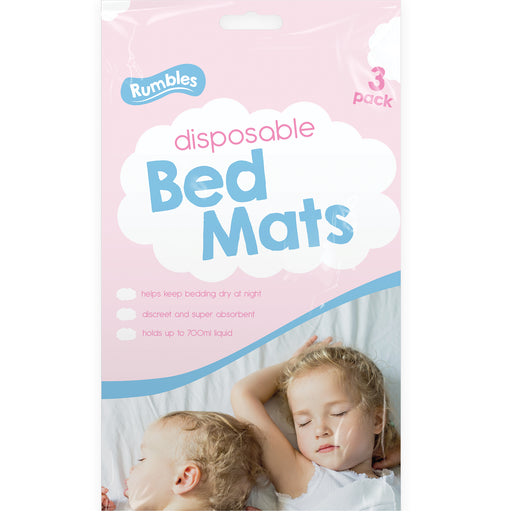 Disposable Bed Mats - x 3