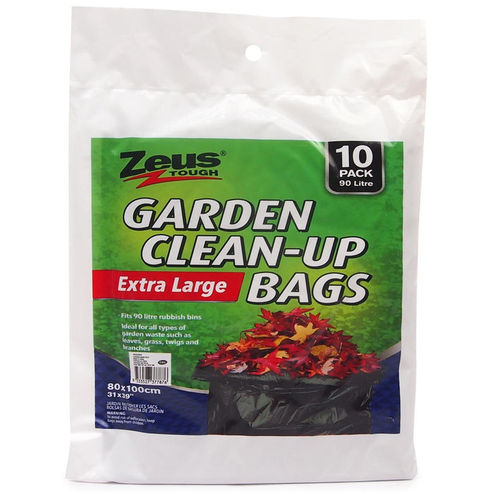 90L Eextra Large Garden Bags - 10pc