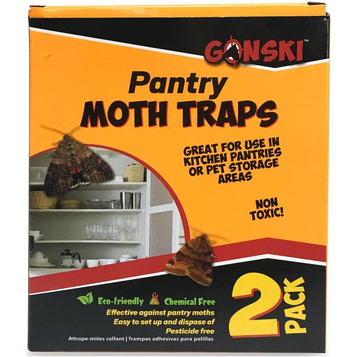 Moth Glue Traps - 2pc