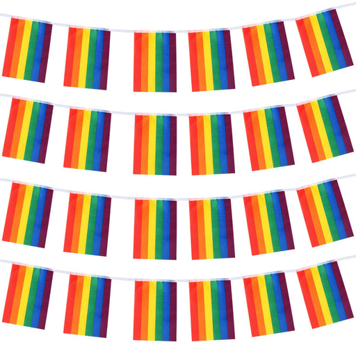Pride Bunting Flags - 8pc