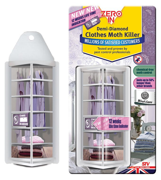 Demi-Diamond Clothes Moth Trap - Refillable