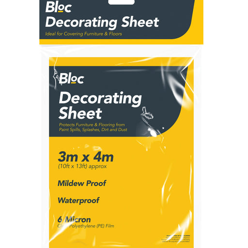 Decorating Sheet - 10ft x 13ft