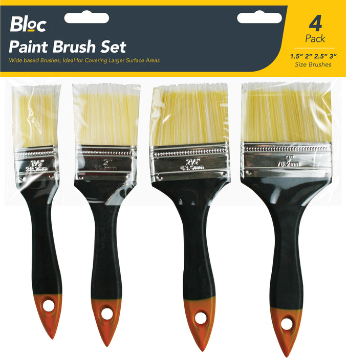 Paint Brush Set - Pack of 4