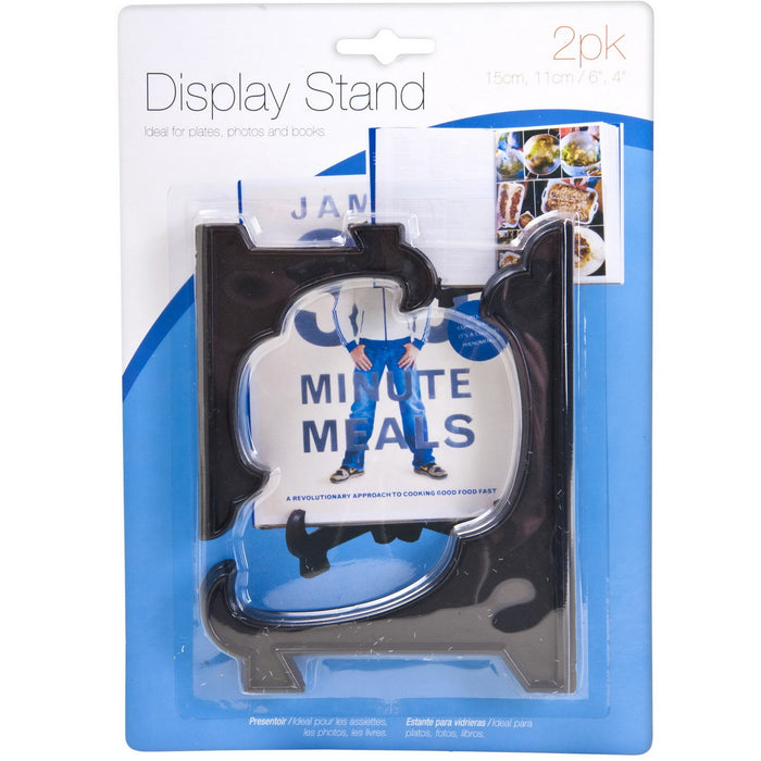 Black Display Stand - 2pc