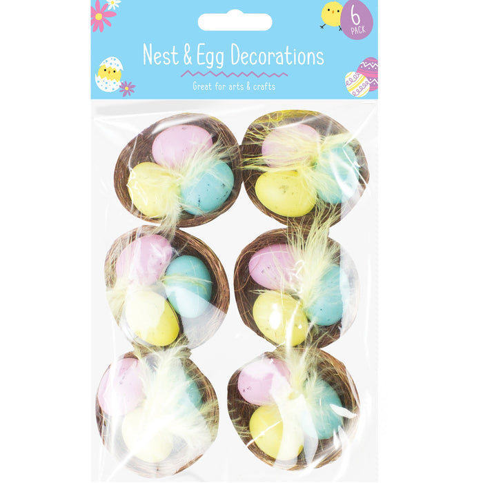 Easter Egg Nests - 6pc