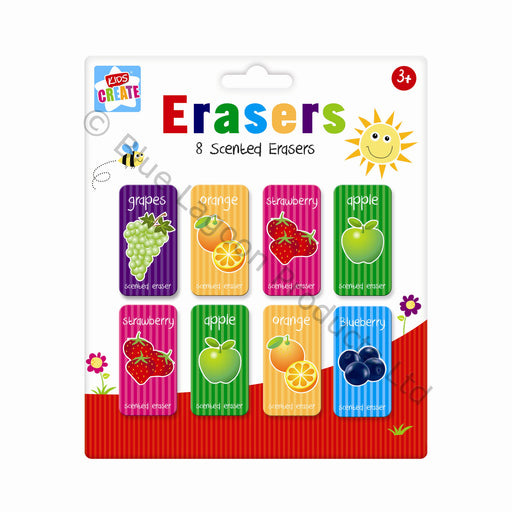 Scented Erasers - Pack of 8