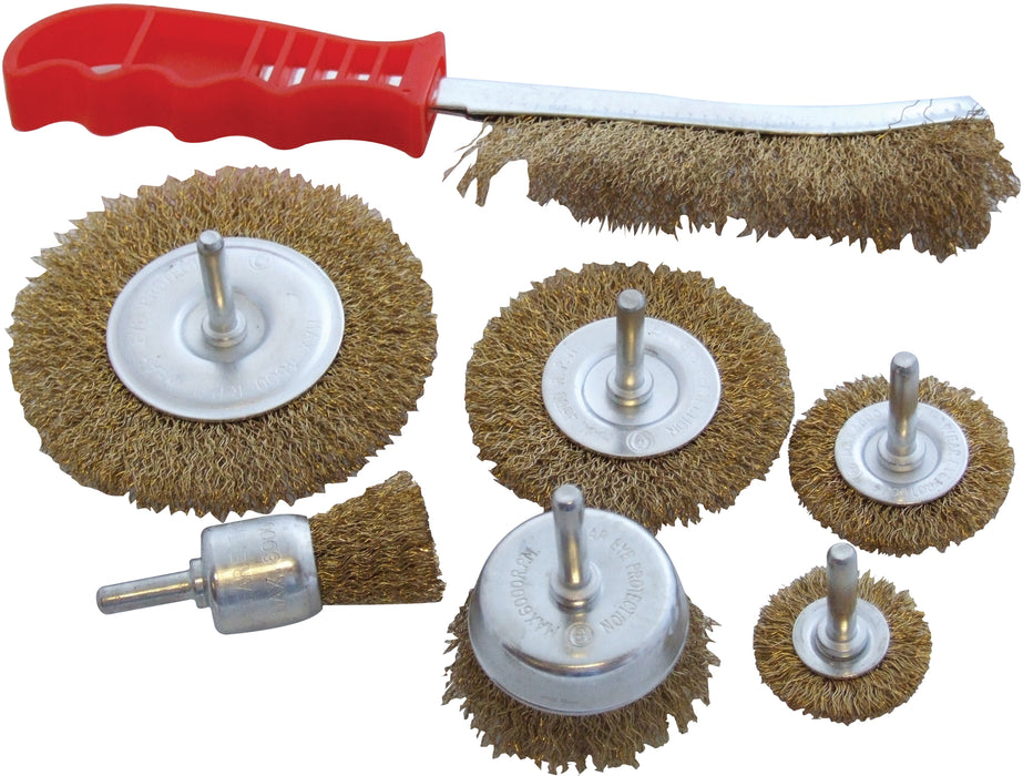Wire Brush Set  - 7pc