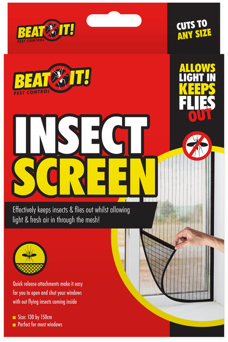 Window Insect Screen - 130x150cm