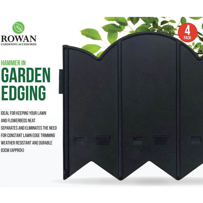 Garden Edging - 4pc
