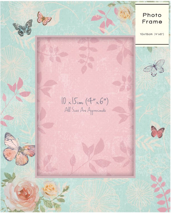 DISC Floral Photograph Frame - High Quality