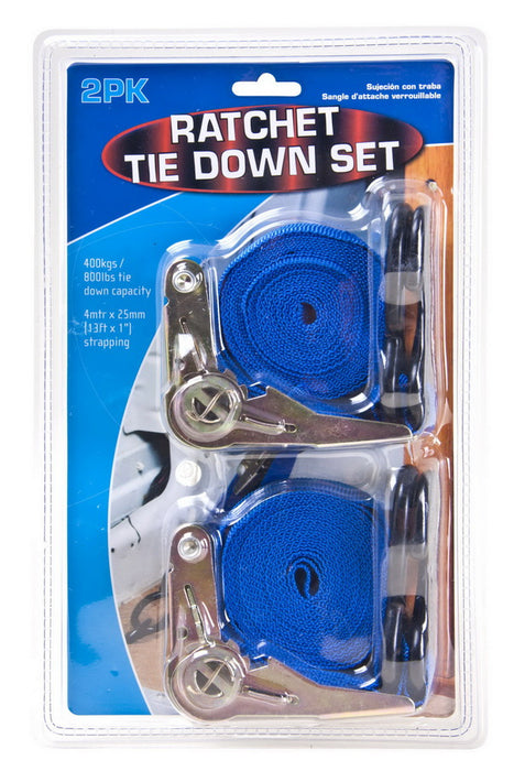 Ratchet Tie Downs - 2pc