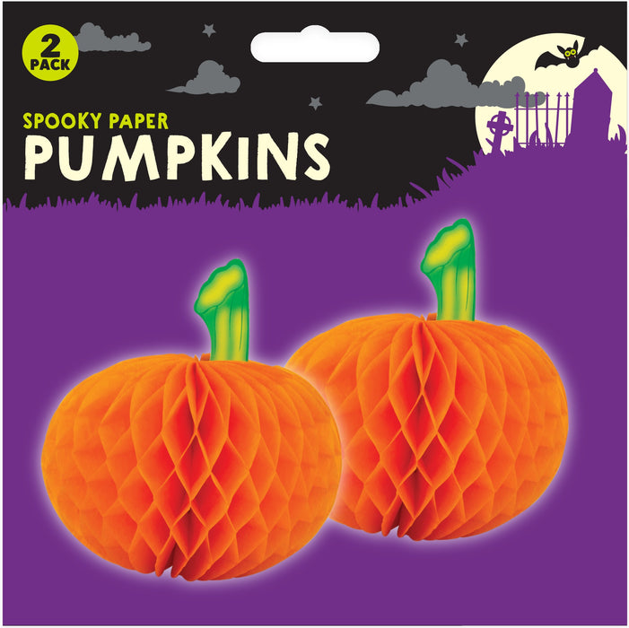 3D Pumpkin Table Decoration - 2pc
