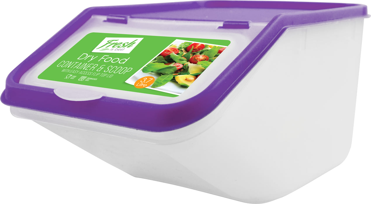 DISC Dry Food Container - Includes Scoop