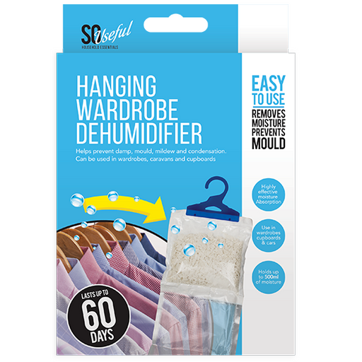 DISC Wardrobe Dehumidifier - Hanging Solution