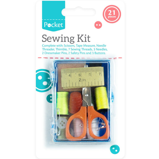 Sewing Kit Set - 21pc Set