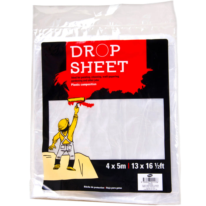 Plastic Drop Sheet - 4x 5 Metre