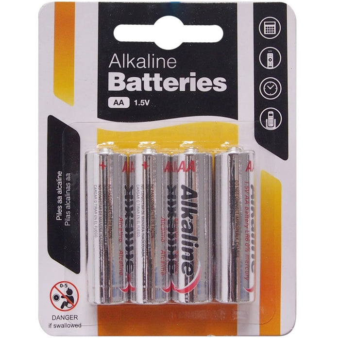 AA Batteries - 4pc