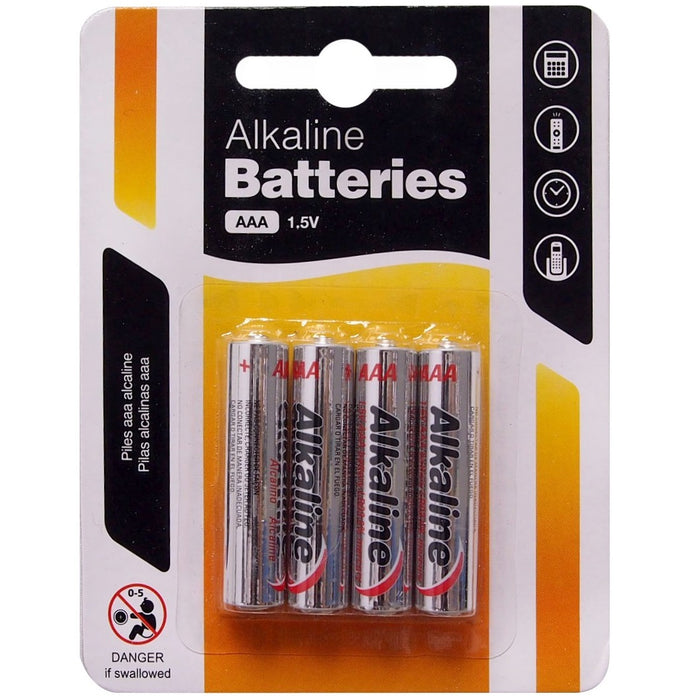 AAA Batteries - 4pc