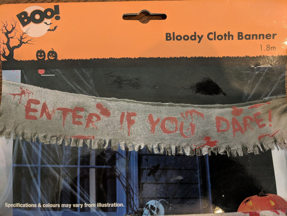 Bloody Cloth Banner - 1.8M
