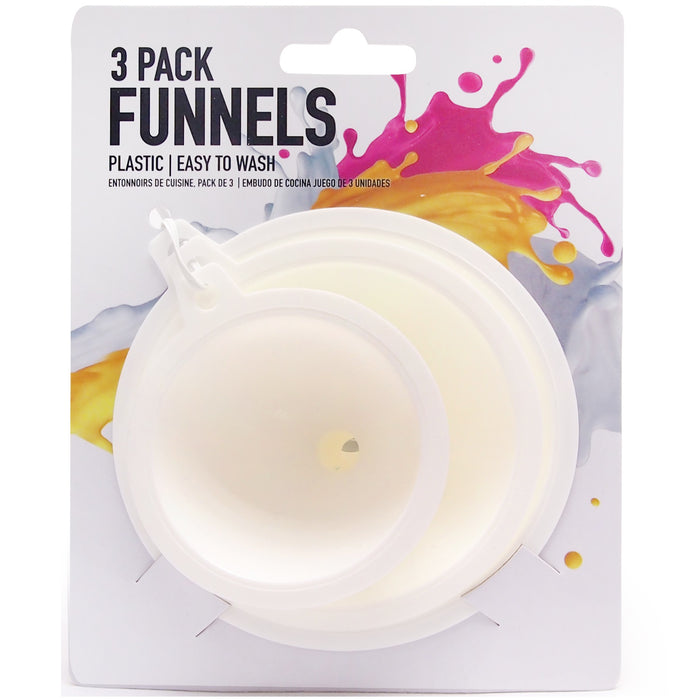 Funnels With Handles - 3pc