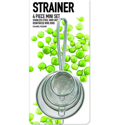 Assorted Strainer Kit - 4pc
