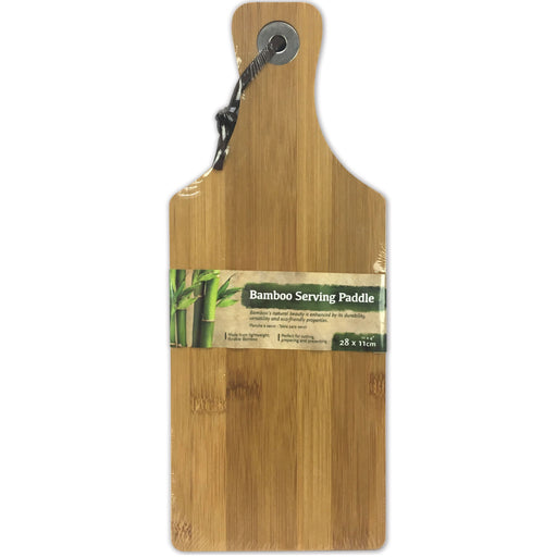 Bamboo Serving Paddle