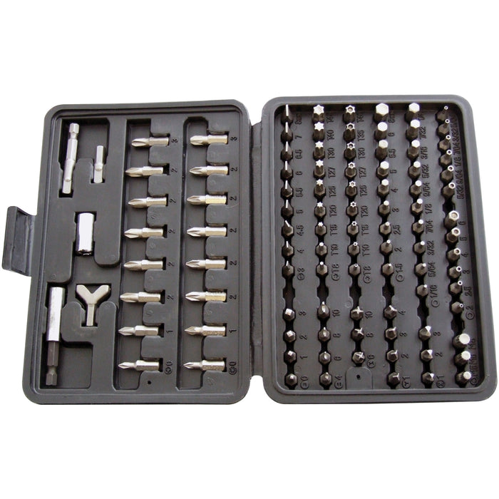 Assorted Drill & Bit Set - 100pc