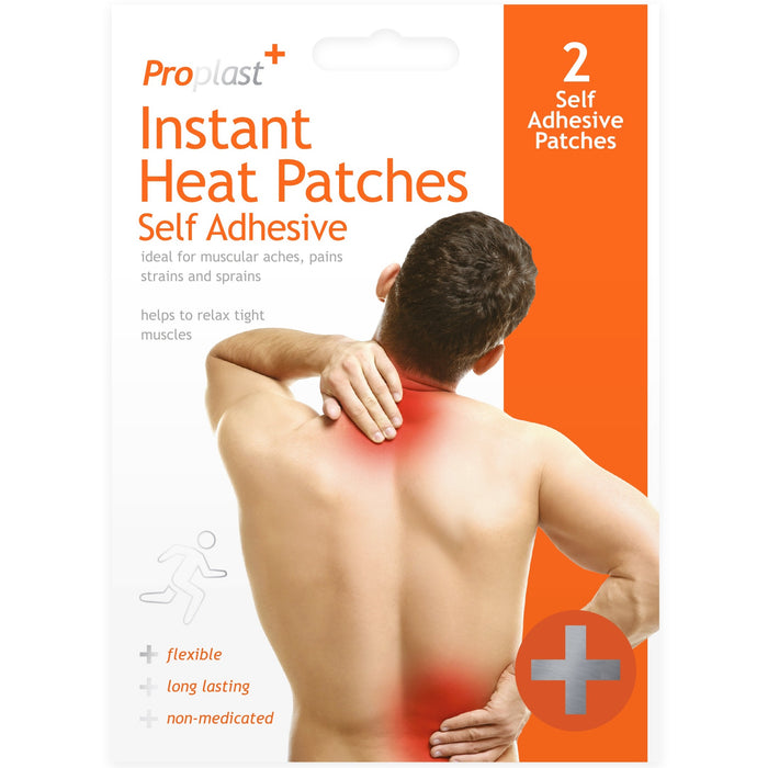 Instant Heat Pads - 2pc Set
