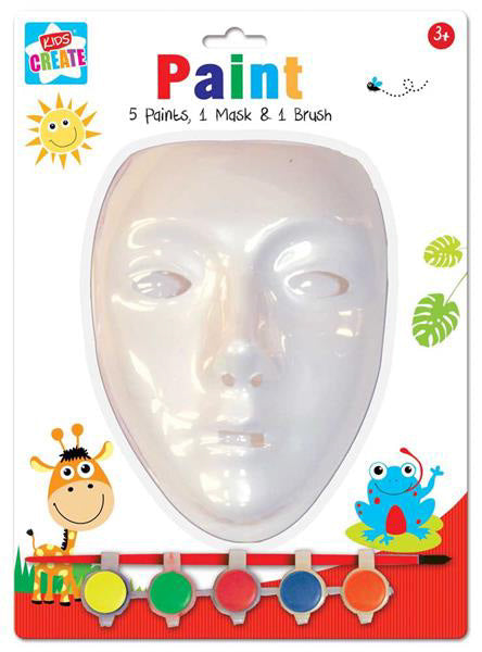 Paint Your Own Mask Kit - 7pc