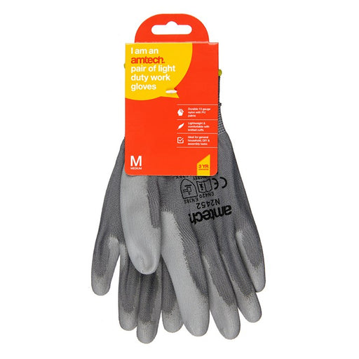 PU Coated Work Gloves - Size 8 (M)
