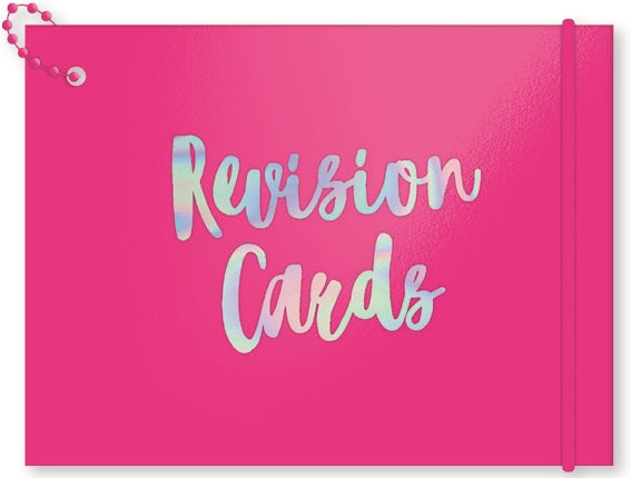 Neon Revision Card - 100pc
